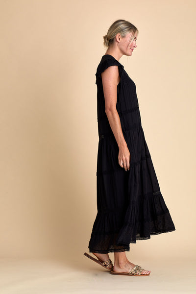 Free People Midnight Midi Dress
