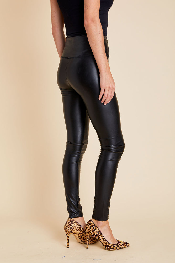 RD Style Faux Leather Leggings