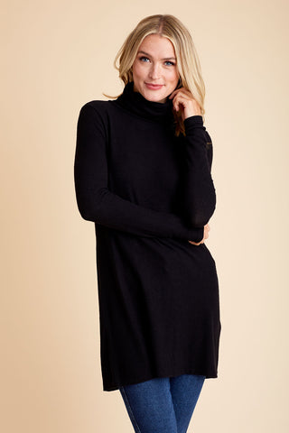 Z Supply Knit Turtleneck Tunic/Dress