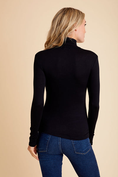 Active Basics Turtleneck (available in navy & black)