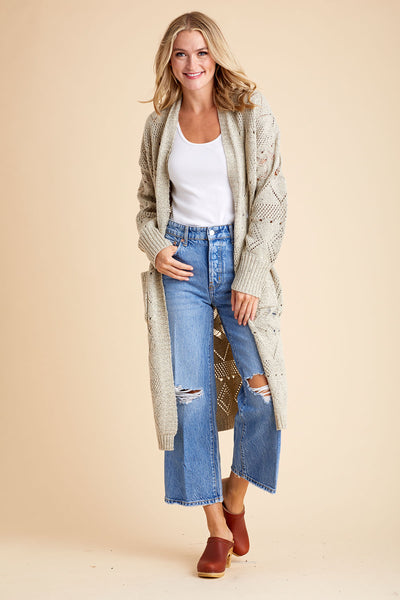 Aly Daly Long Knit Cardigan