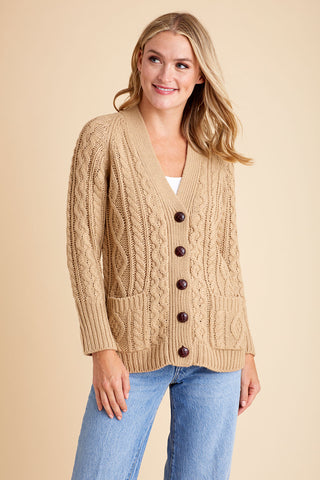 RD Style Cable Cardigan