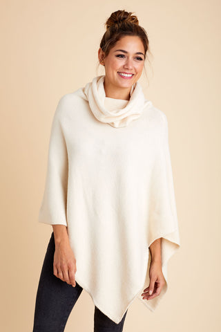 Look by M Turtleneck Poncho