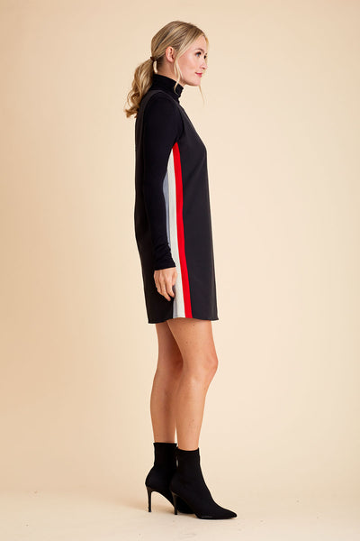 THML Sleeveless Side Stripe Dress