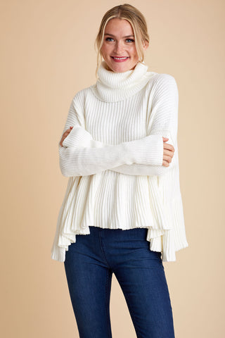 Free People Layer Cake Swing Sweater