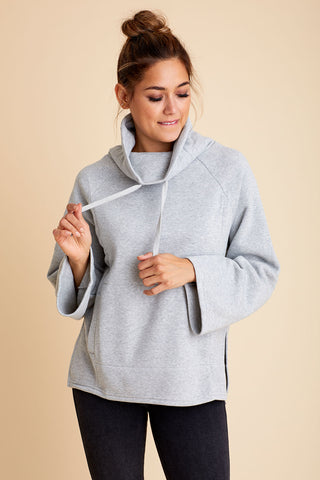 Z Supply Jordyn Loft Fleece Pullover