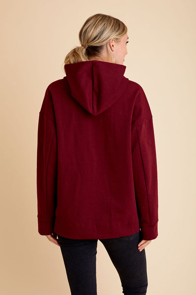 All Row Structured Hoodie