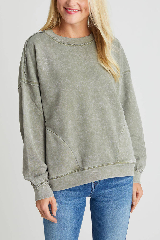 Free People Solid Metti Crew