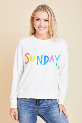 Les Lis Sunday Graphic French Terry Sweatshirt