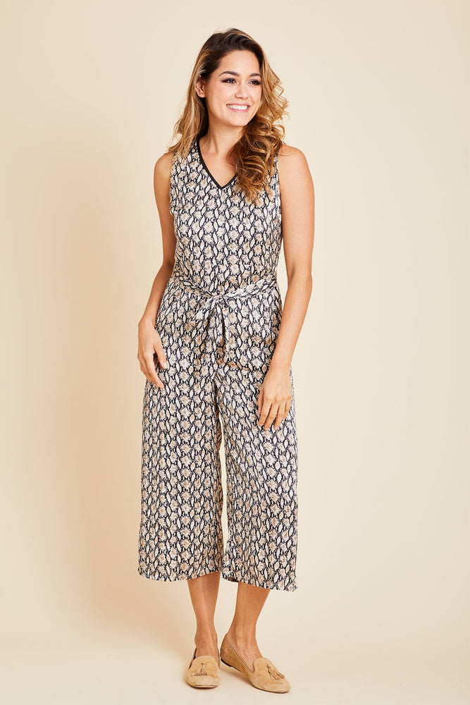 Load image into Gallery viewer, THML Snakeprint Jumpsuit