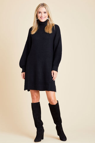 Sugarlips Turtleneck Sweater Dress