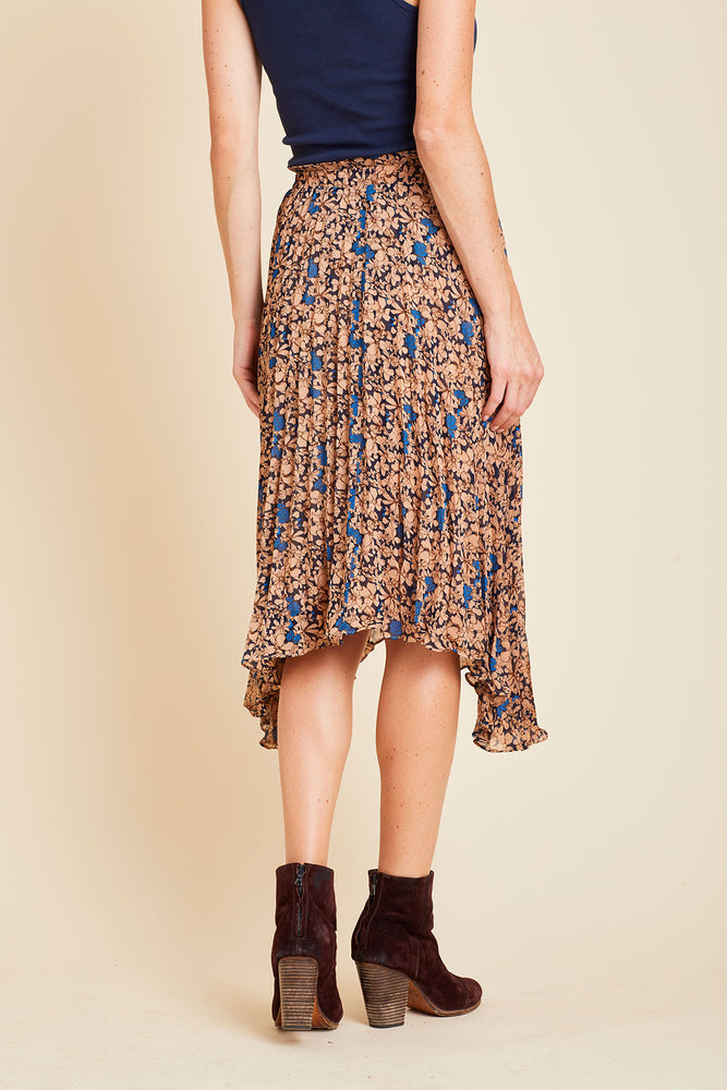 Load image into Gallery viewer, Lucy Paris Pleated Floral Skirt