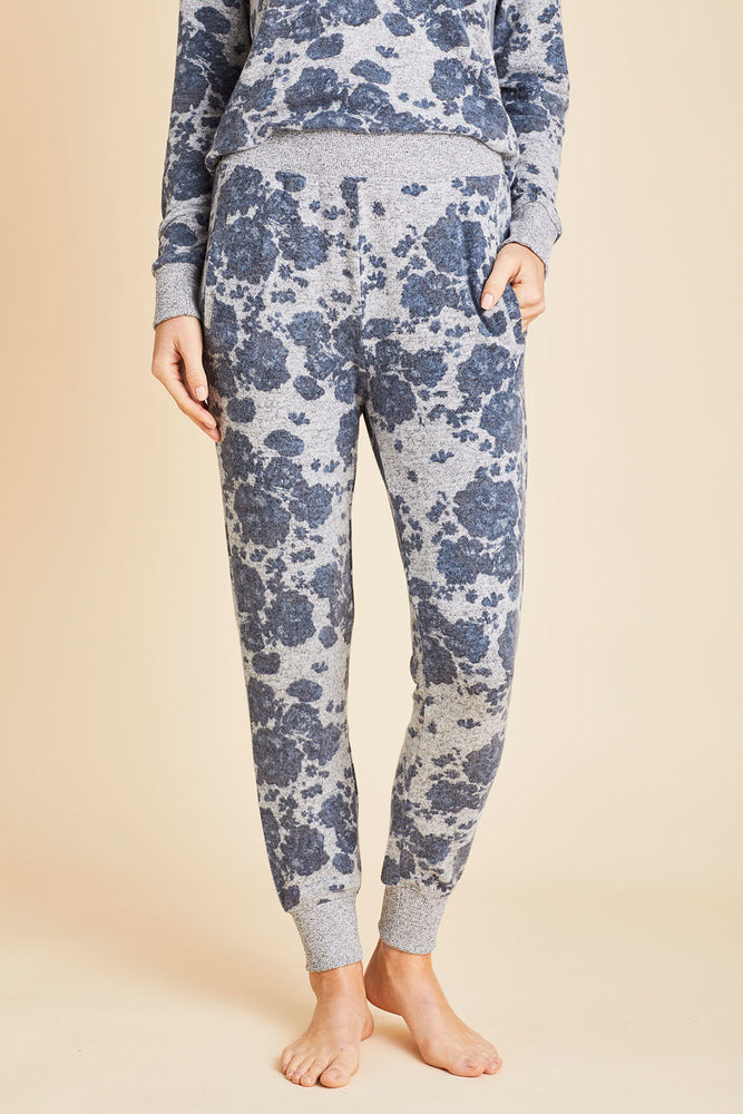 Z Supply Marled Floral Joggers
