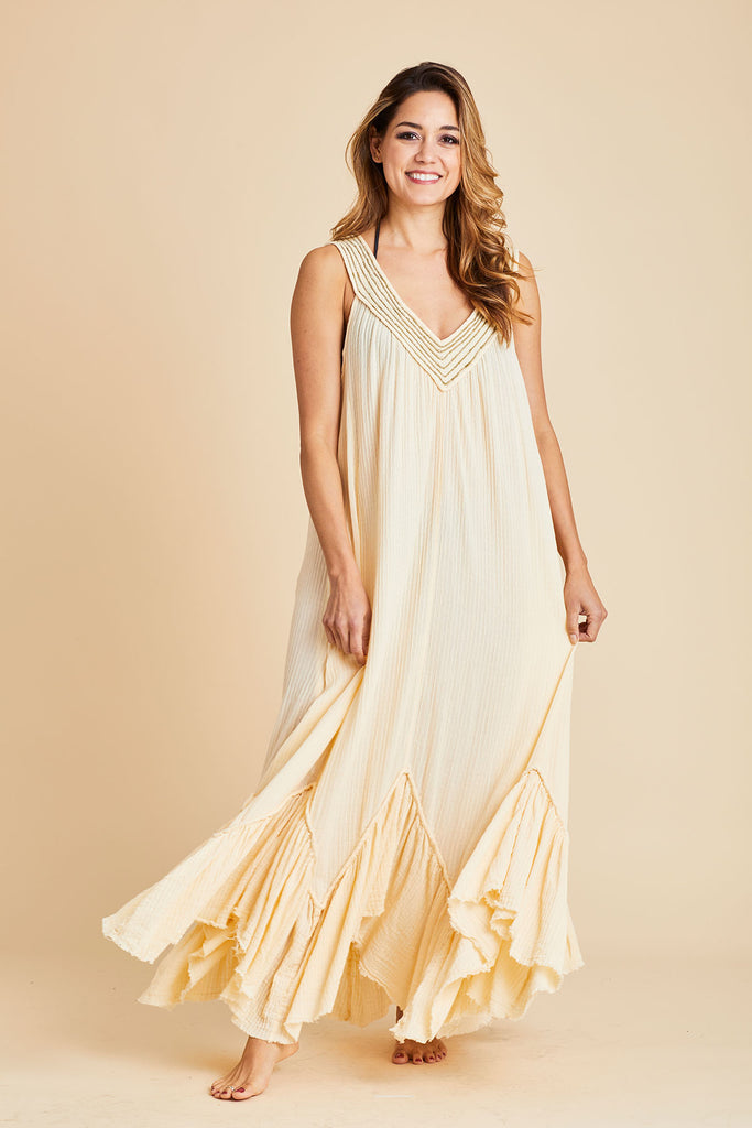 Free People Dreams of Bali Maxi Dress/Coverup