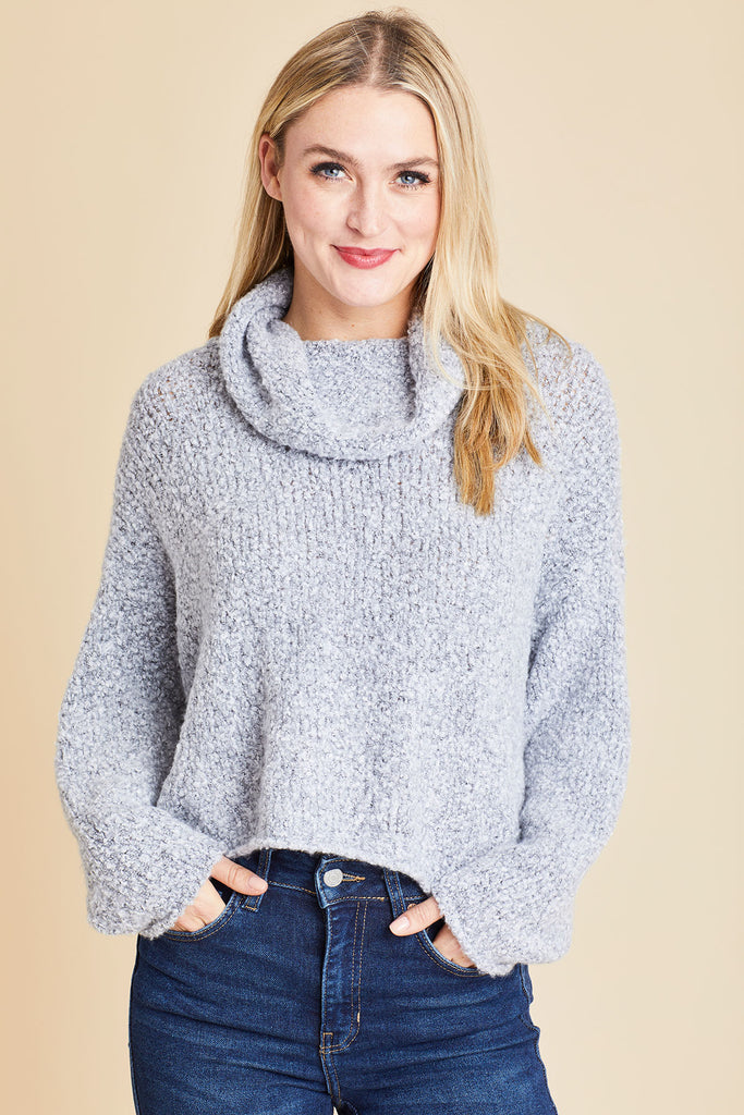 Free People BFF Slouchy Cowlneck Sweater