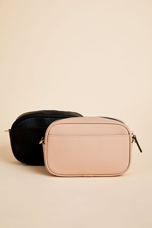 Vegan Leather Camera Bag