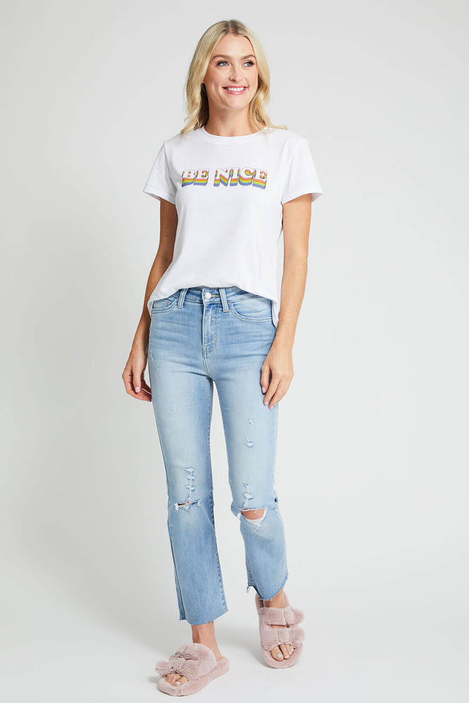Load image into Gallery viewer, Flying Monkey High Rise Straight Ankle Jeans