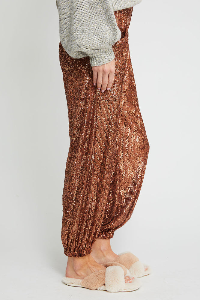 Free People Morelia Sequin Jogger