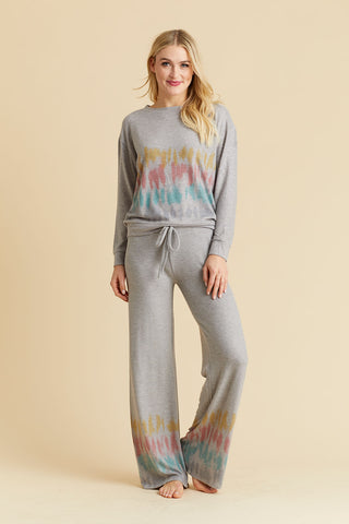 Phil Love Tie Dye Print Loungewear Set