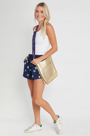 Load image into Gallery viewer, Drawstring Star Print Shorts