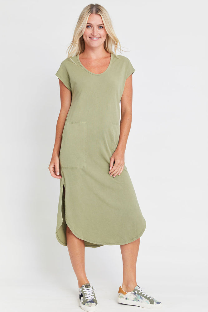 Z Supply Sage Leira Midi Dress