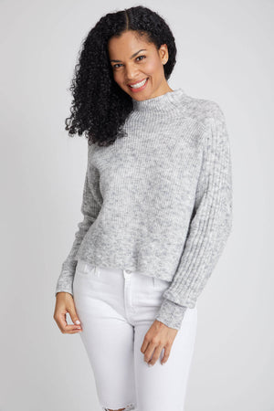 RD Style Dolman Ribbed Sweater