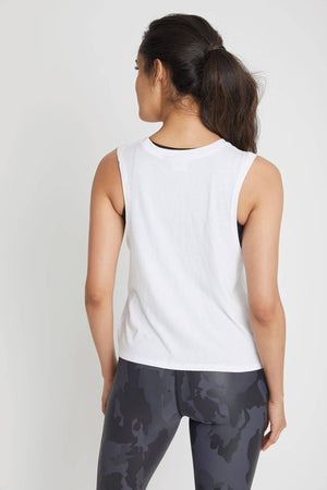 Mono B Twist Front Sleeveless Tank