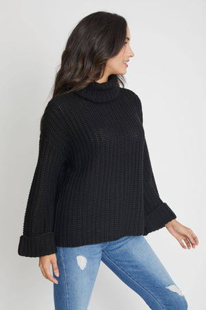 Load image into Gallery viewer, 525 America Wide Sleeve Turtleneck