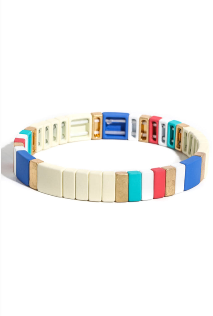Cape Cod Colorblock Bracelet