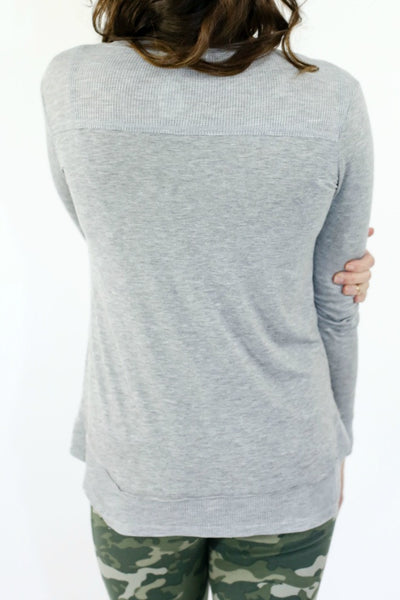 Six Fifty Thermal Detail Tee