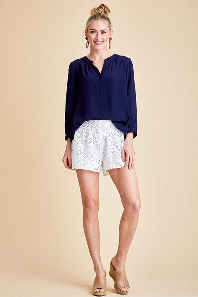 Sugarlips Eyelet Shorts