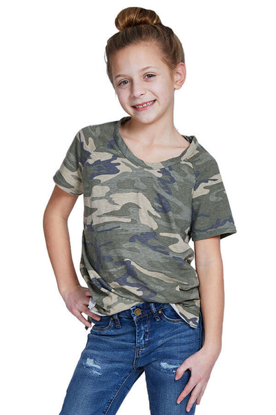 So Nikki Camo T-Shirt