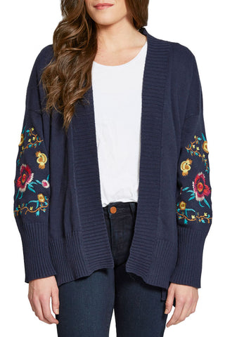 RD Style Embroidered Cardigan