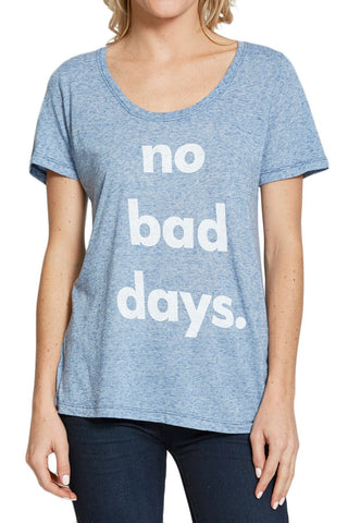 "Retro Brand ""No Bad Days"" Graphic Tee"