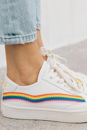 Load image into Gallery viewer, Soludos Rainbow Wave Sneaker