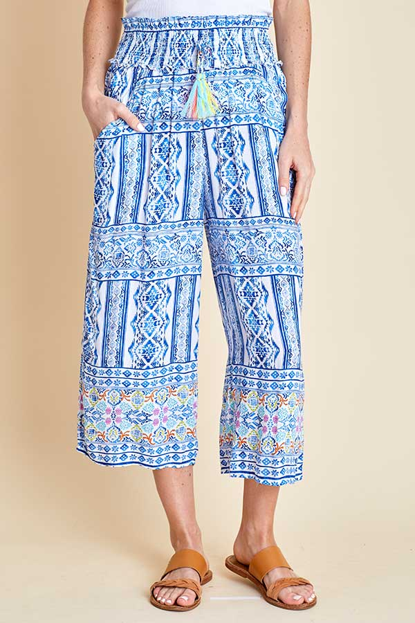Surf Gypsy Cropped Beach Pants