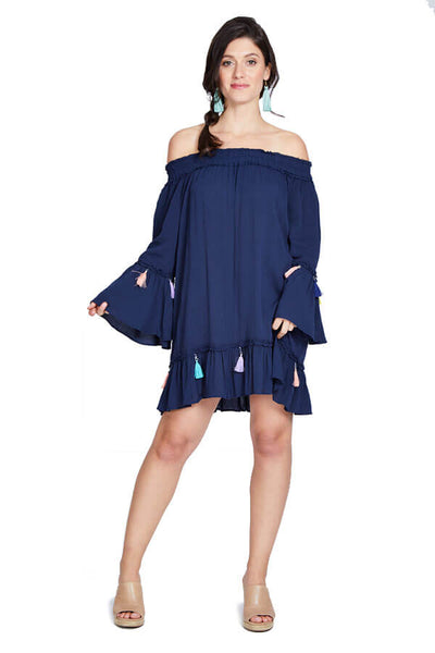 Surf Gypsy Off The Shoulder Coverup/Dress
