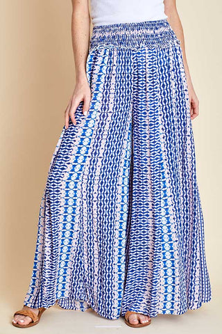 Surf Gypsy Printed Wideleg Beach Pants