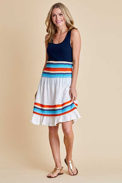 Surf Gypsy Strapless Coverup/Convertible skirt