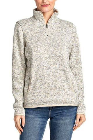 Thread and Supply Madison Half Zip Fleece Pullover
