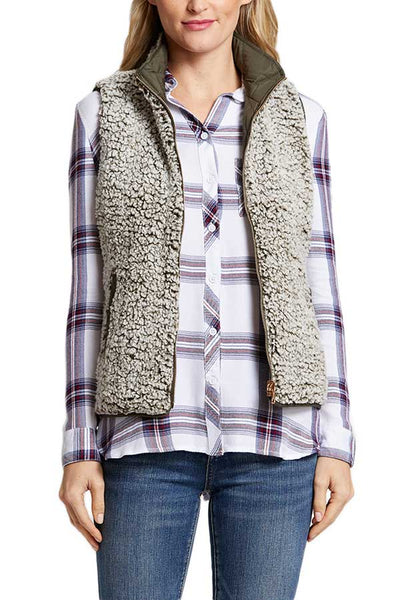 Thread and Supply Park City Reversible Vest
