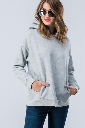 Load image into Gallery viewer, French Terry Hooded Sweatshirt
