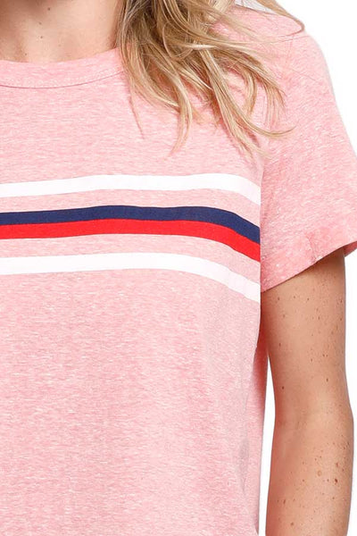 Trend Notes Retro Stripe Short Sleeve Tee