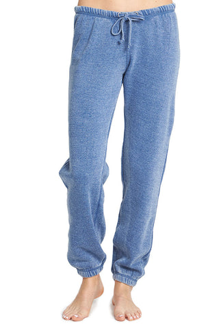 Vintage Havana Burnout Jogger Sweatpants (Available in Vintage Blue and Blush)