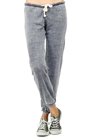 Vintage Havana by Ocean Drive Grey Burnout Jogger Sweatpants