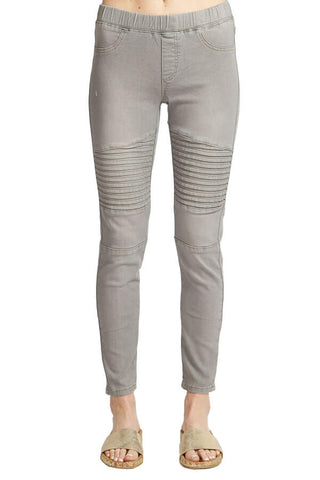 Wish List Denim Moto Leggings