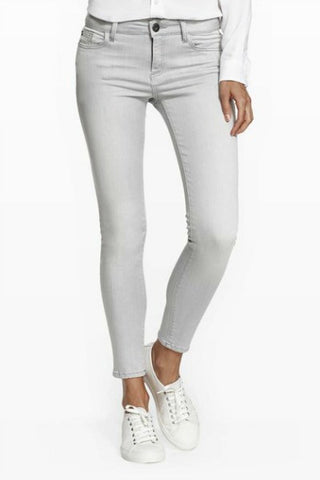 DL1961 Margaux Grey Wash High Waist Skinny Jean