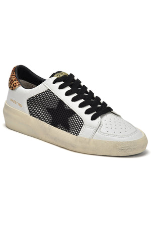 Load image into Gallery viewer, Vintage Havana Elevate Leopard Star Sneakers