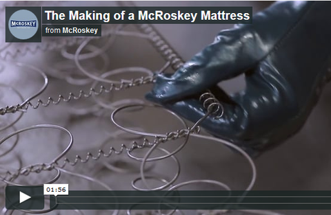 The Making of a McRoskey Mattress