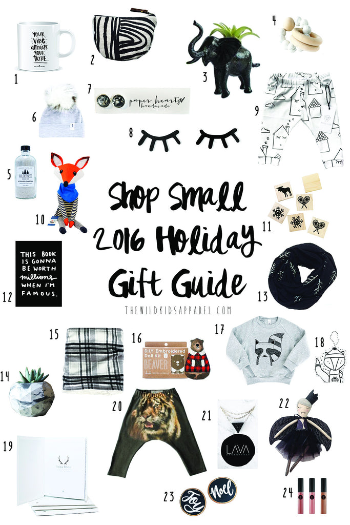 Shop Small 2016 Holiday Gift Guide